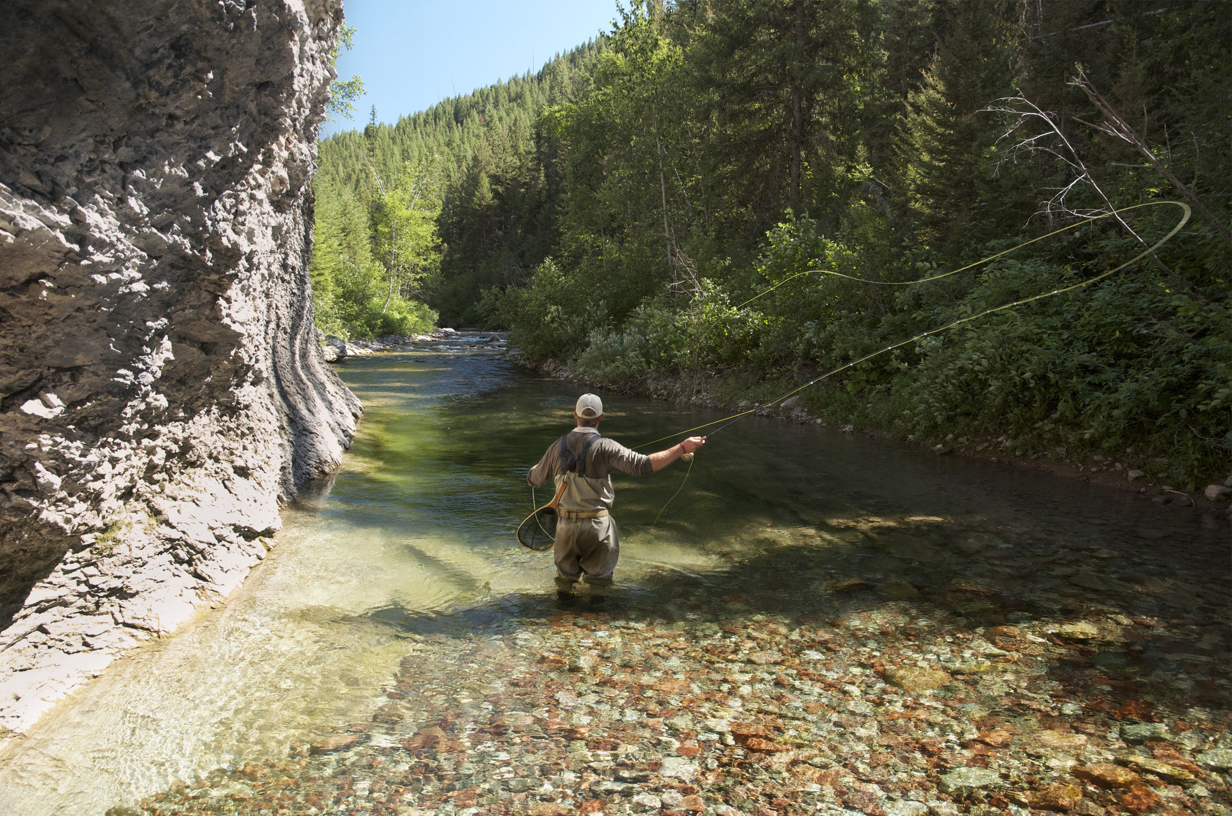 Casting a line backcountry style montana wild for Backcountry fly fishing