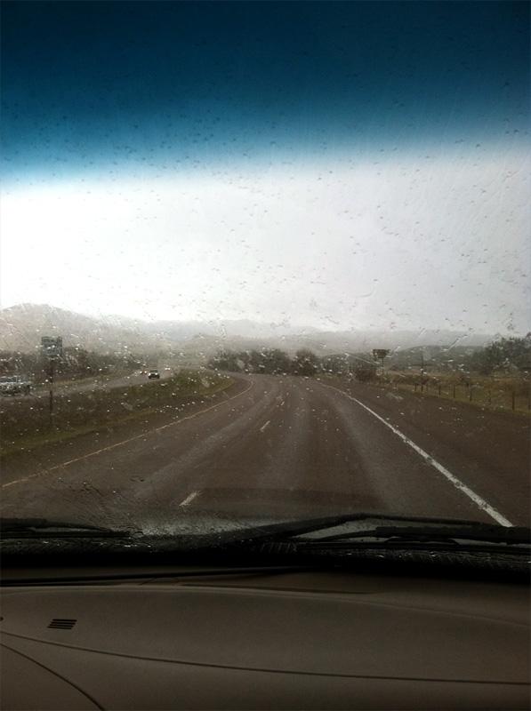 shoot, out, rain, simms, ford, f 150
