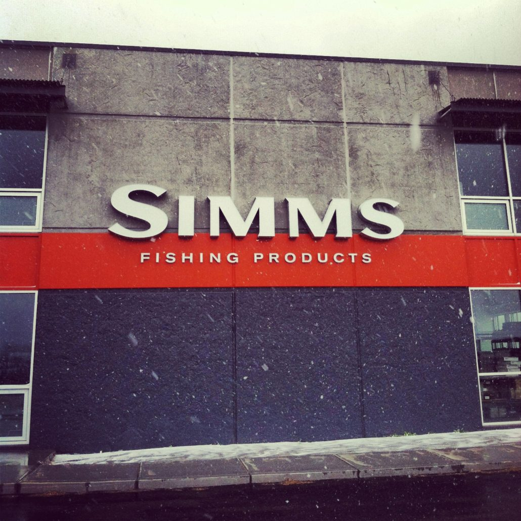 simms, fly fishing, waders, boots, headquarters, bozeman, montana, shoot out, ice out