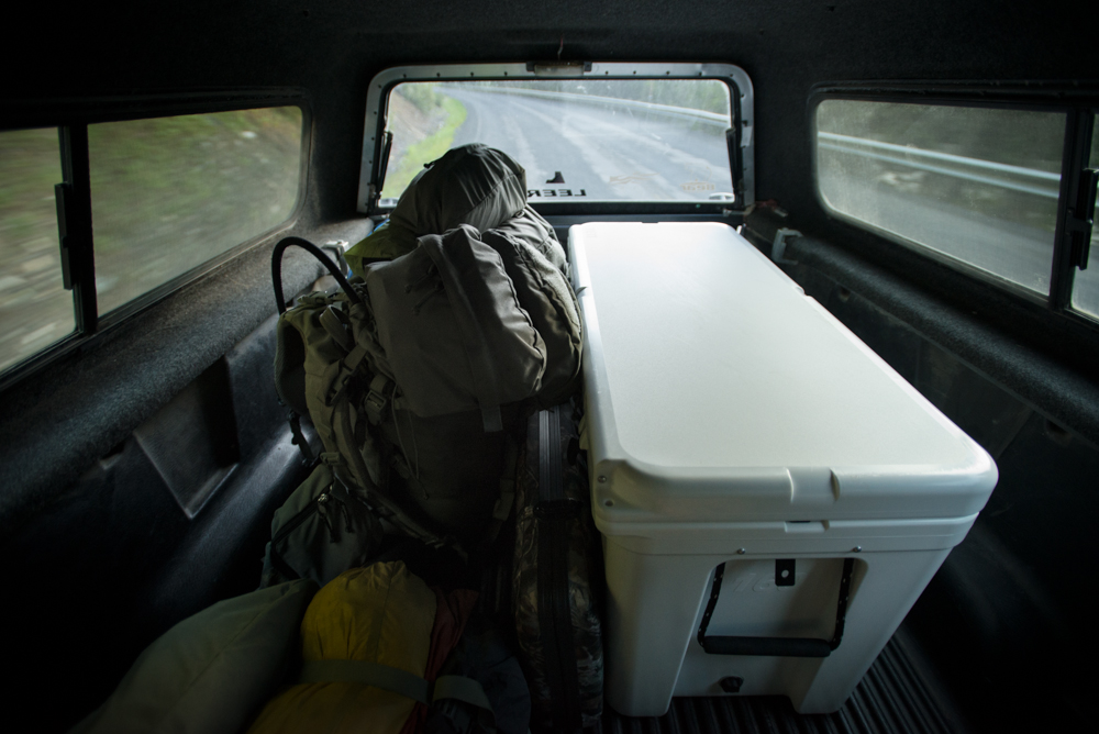 idaho, bear hunting, yeti coolers, mystery ranch, backpacks, coolers, ford, f-150