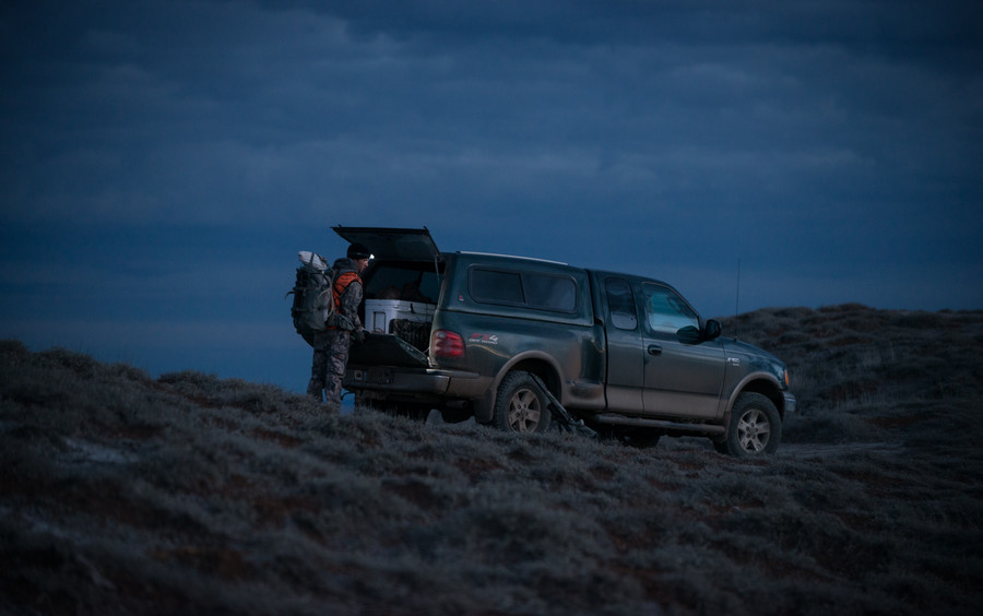 ford, F150, montana, sitka, yeti, coolers, montana, wild, mule, deer, rack