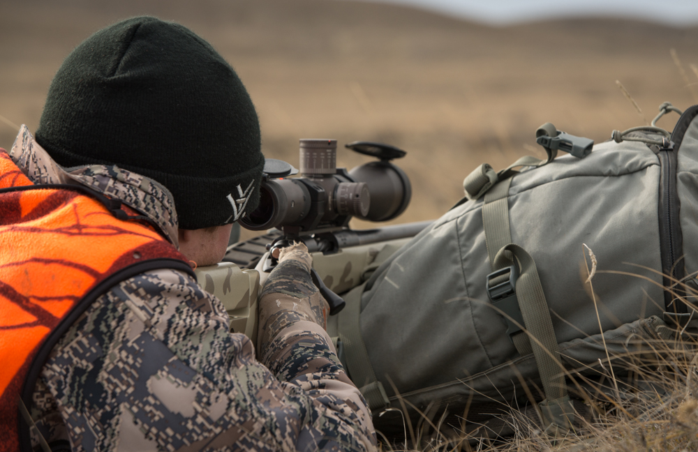 prone, shooting, long, range, montana, wild, vortex, razor, hd, rifle, scope, montana, sitka, gear, mystery, ranch, longbow