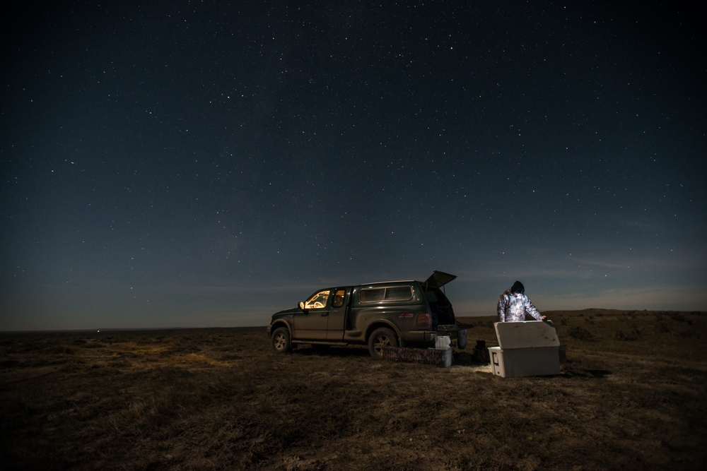 night, photography, YETI, coolers, hunting, montana, wild
