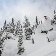 Montana cliff drop