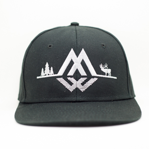 ELK RIDGE SNAPBACK (Midnight Black)
