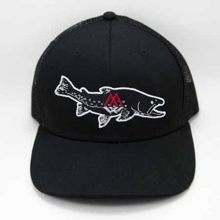 bull, trout, hat, snapback, char, trucker, bully