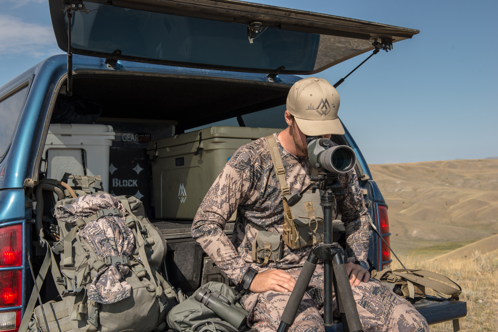 camping, hunting, antelope, spotter, vortex, montana wild, video