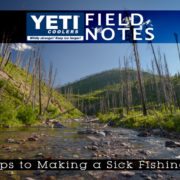 Fly Fishing Montana backcountry