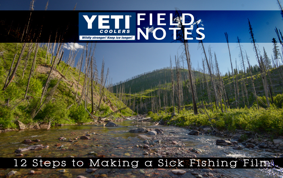 montana, fly fishing, backcountry, yeti, scenic, film, video