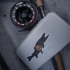 bull, trout, sticker, decal, char