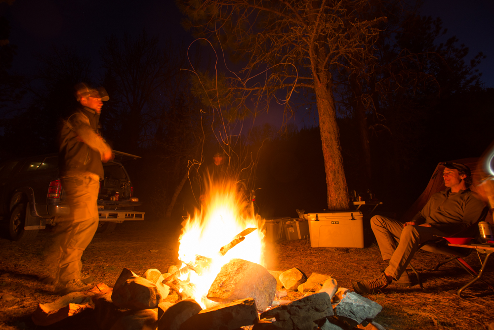 camping, Yeti Coolers, adventure, bonfire, how to, tips, wild