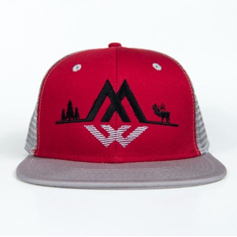 snow, camo, tactical, trucker, lifestyle, montana, wild, hat, elk, bull