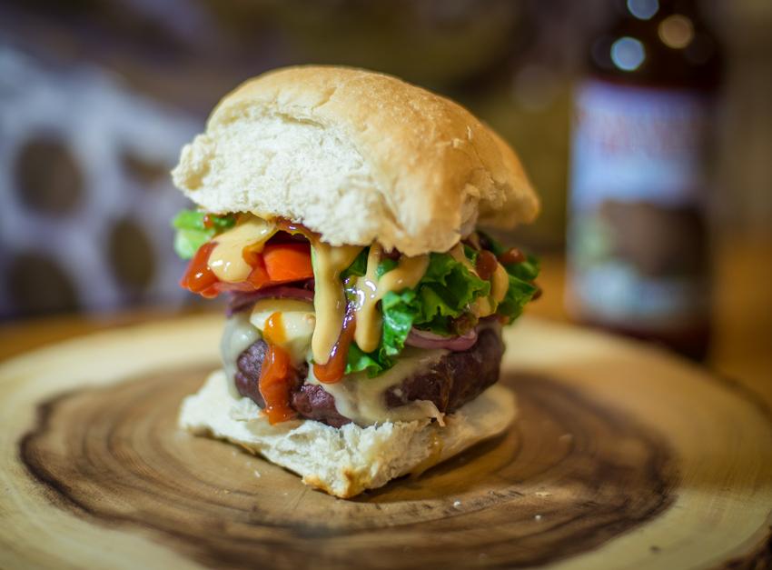 elk, burger, montana, grilling, traeger
