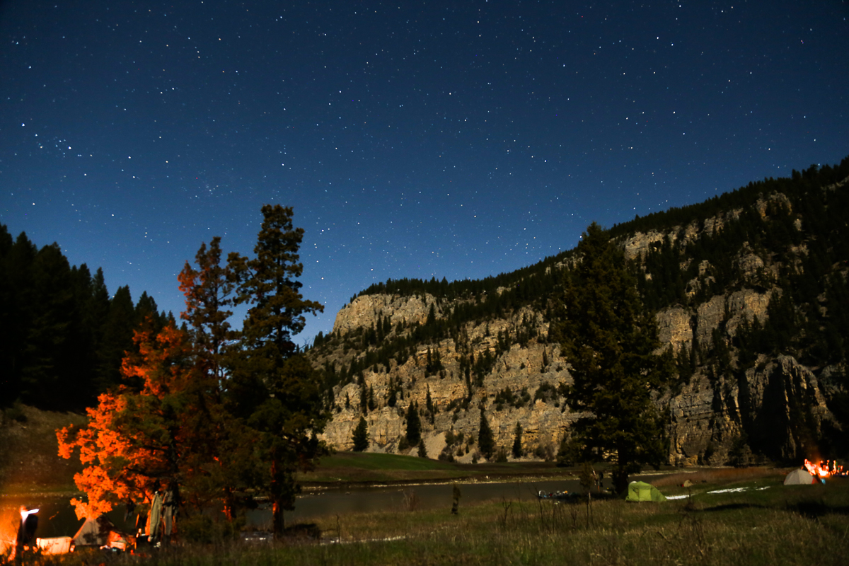Stars, Bear Hunting, Smith River, River, Hunting