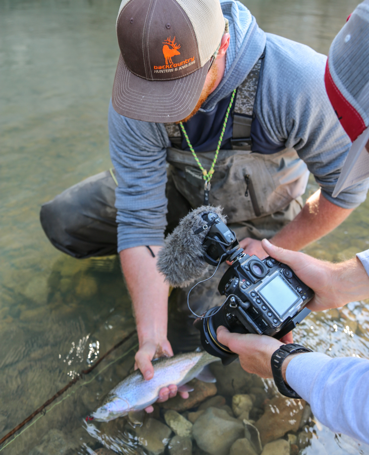 filming, smith river, montana, wild, video