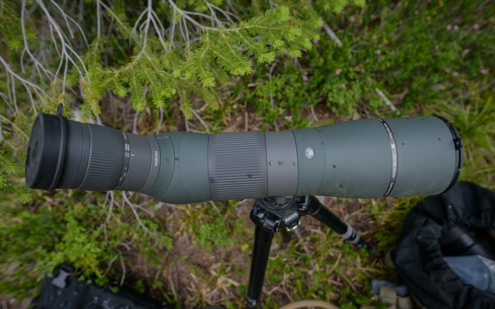 vortex, razor, hd, 22-48x65, new, look, spotting, scope, review