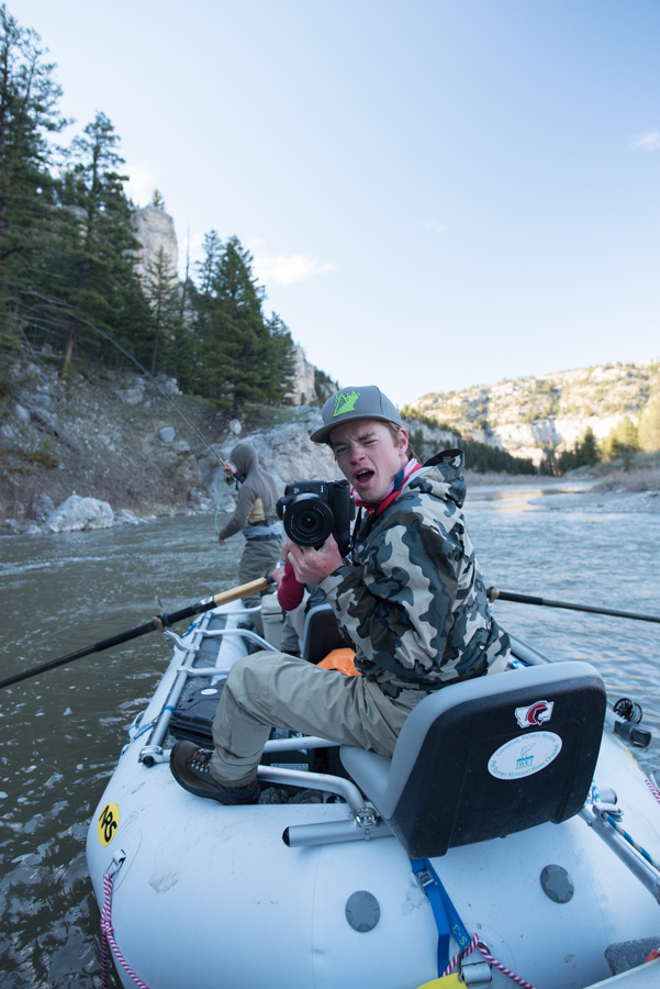 montana wild, internship, fishing, photo, video, smith river