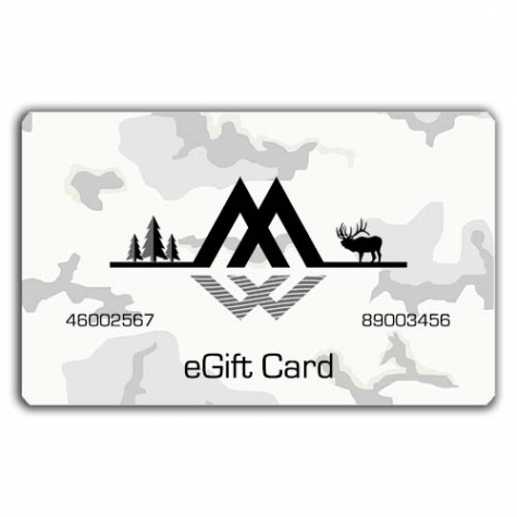 montana wild, gift, card, certificate, hunting, fishing