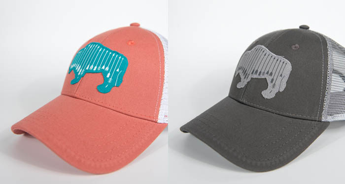 ladies, bison, trucker, buffalo, fishing, hunting, archery