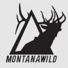 elk, icon, decal, montana, wild, bull