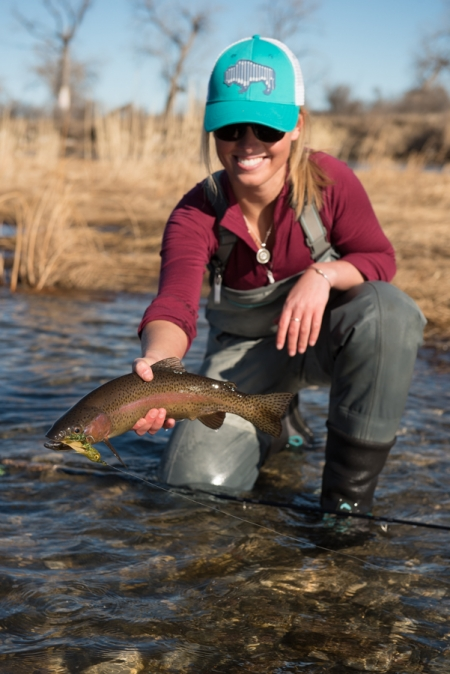 bighorn, river, montana, flyfishing, women who fish, fishing, streamer, simms