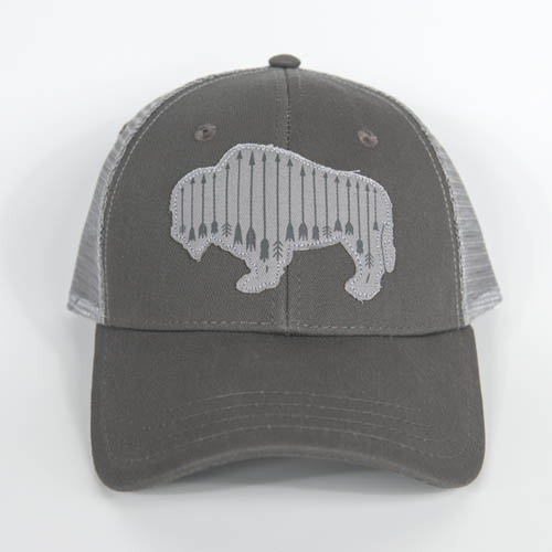 army, ladies, buffalo, trucker, buff, arrows, womens, montana, wild, hunting, fishing