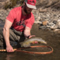 bugged, out, brown, trout, tee, t-shirt, bucknasty, fly, fishing, montana, wild, yellowstone, river, report, march