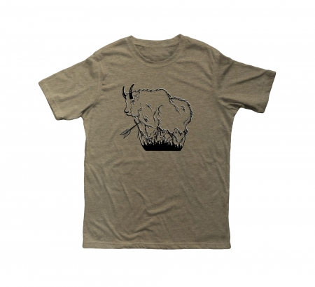 mtn, goat, tee, t-shirt, mountain, hunting, bowhunting, hat, hunting
