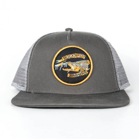 bucknasty, trucker, browns, hat, film, brown trout, fishing,