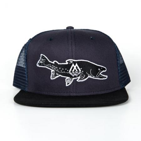 Bull, trout, hat, trucker, fishing, apparel