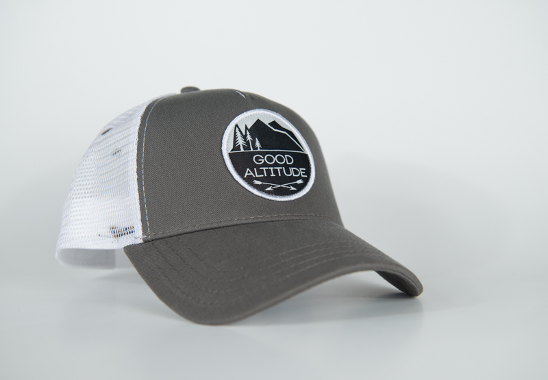 Good Altitude, trucker, hat, hike, hunt, fish, run, montana, wild, pro, promont, altitude, good altitude apparel