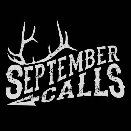 september calls, elk, hunting, hunt, bull elk, sticker, decal, archery, bowhunter, bowhunt, bowhunting, montana, wild, billings, bozeman