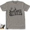 September calls, tee, t-shirt, elk, bugle, rut, bull, archery, bowhunting, archery, montana, wild, pro, promont, outdoors