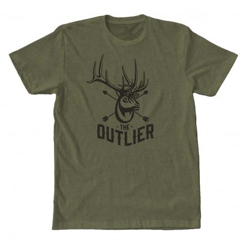 the outlier, elk, film, video, shirt, tee, bull, arrow, archery, bowhunting