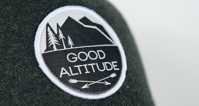 good altitude, apparel, hat, t-shirt