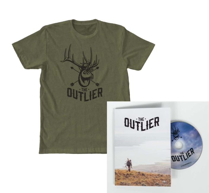 The outlier, film, dvd, for, sale, purchase, hunting, montana, wild, elk, rmef, bull
