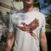fast, food, pheasant, montana, wild, shirt, tee, t-shirt, upland, bird, hunt, hunting, shotgun, season