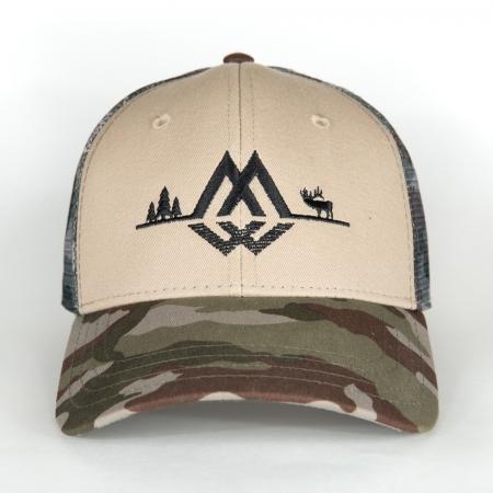 Montana Wild, trucker hat, trucker, hat, camo, hunting, fishing, outdoors, apparel