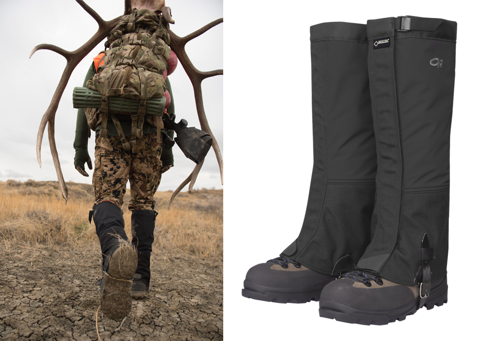Outdoor Research, gaiters, hunting, best