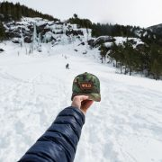 Wild State Trucker, Montana Wild, backcountry, stoke, snowboarding, split boarding, touring, skinning, outdoor media