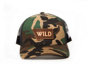 Wild State Trucker, Montana Wild, apparel, stoke, Montana, hunting, fishing, rodeo, western, fly fishing, brown trout, last best place, hunting, elk hunting, deer hunting, western