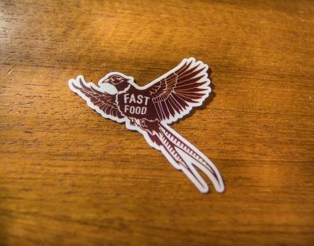 Pheasant hunting, fast food pheasant, pheasant rooster, pheasant sticker, pheasant decal