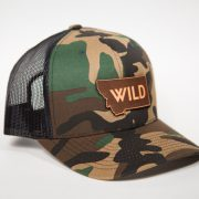 Wild State Trucker, Montana Wild, Stoke, hunting, fishing, western, mountain standard, outdoor apparel, outdoor media, Bozeman, Montana, 406