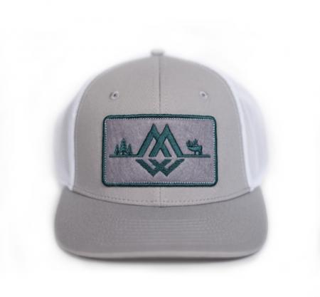 Fly Patch Trucker, Montana Wild, Outdoor media, fly fishing, fishing, outdoor activities, stoke, SKWALHALLA, outdoor apparel, hat, trucker hat, Montana Wild