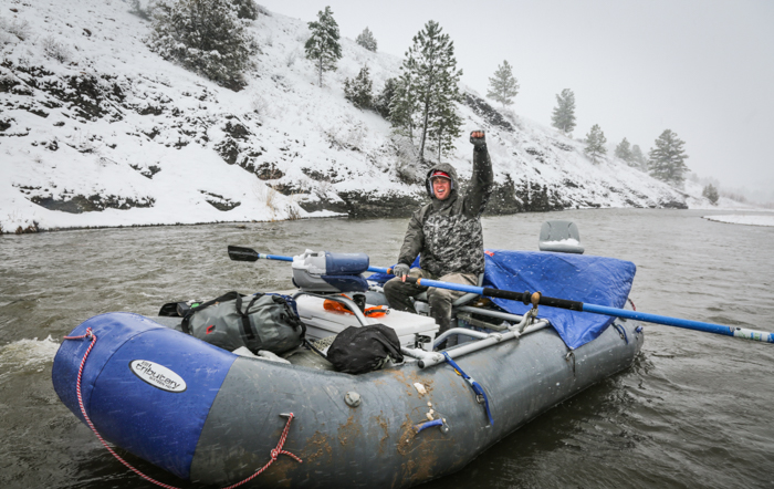 rage cage, Montana Wild, fly fishing, stoke, snow day, snow, bad weather, fishing, Stoked On The Smith