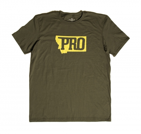 Montana PRO Tee, MT, Montana, PRO, pro, T-shirt, tee, montana wild