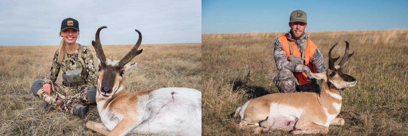 antelope hunting montana, maddie sieler, travis boughton